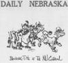 Daily Nebraskan Cartoon from September 12, 1968, c. 1968.