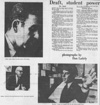 Article and photographs as seen in the November 1, 1968 Daily Nebraskan, c. 1968.