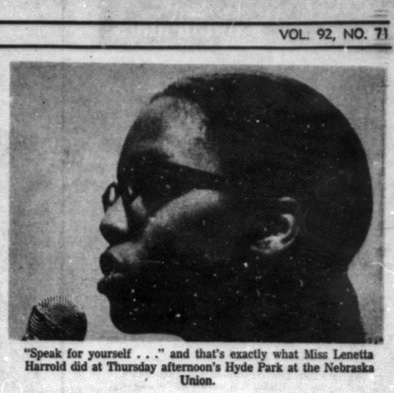 An image from the February 28, 1969 Daily Nebraskan, c. 1969.