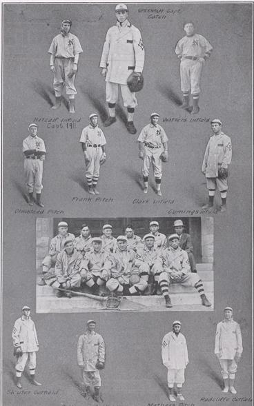 The Last Team to Play Before the Program was Abandoned in 1911