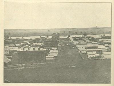 A photograph of Omaha, c. 1861.  DOI: 3