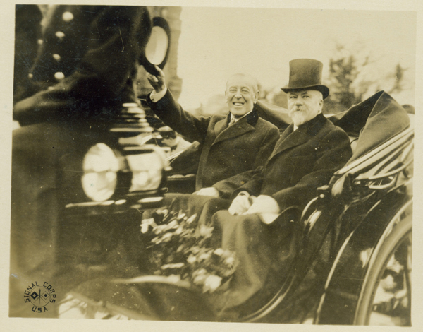 Photo from Woodrow Wilson Archives
