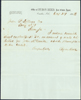 Letter by Reed details enclosure of $50 in collection of rent for John McConihe.